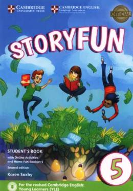 STORYFUN FOR FLYERS 2ND EDITION 5 STUDENT'S BOOK PACK