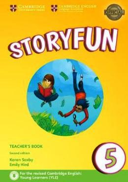 STORYFUN FOR FLYERS 2ND EDITION 5 TEACHER'S BOOK WITH AUDIO