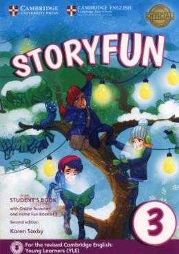 STORYFUN FOR MOVERS 2ND EDITION 3 STUDENT'S BOOK PACK