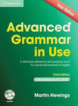 ADVANCED GRAMMAR IN USE 3RD EDITION WITH ANSWERS & CD-ROM