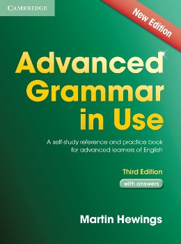 ADVANCED GRAMMAR IN USE 3RD EDITION WITH ANSWERS