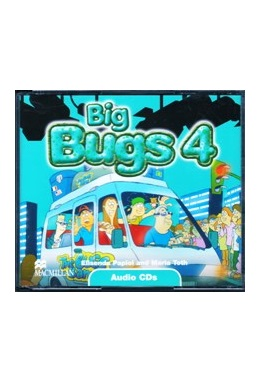 BIG BUGS 4 AUDIO CD (SET 3 CD)