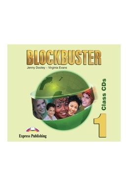 BLOCKBUSTER 1 CLASS CDs (SET 4 CD)
