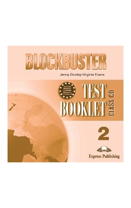 BLOCKBUSTER 2 TEST BOOKLET CLASS CD