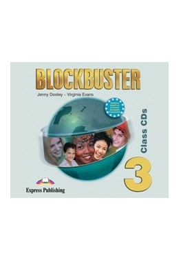 BLOCKBUSTER 3 CLASS CDs (SET 4 CD)