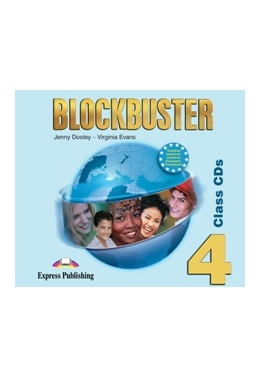 BLOCKBUSTER 4 CLASS CDs (SET 4 CD)