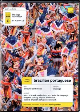 TEACH YOURSELF BRAZILIAN PORTUGUESE COURSEBOOK WITH AUDIO CDs
