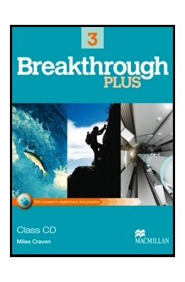 BREAKTHROUGH PLUS 3 CLASS AUDIO CD