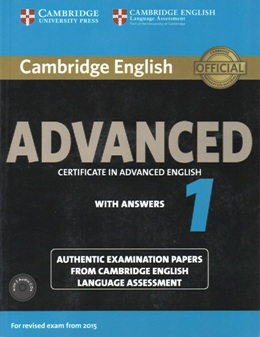 CERTIFICATE IN ADVANCED ENGLISH 1 SELF-STUDY PACK (REVISED 2015)