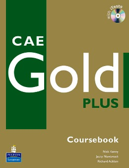 CAE GOLD PLUS COURSEBOOK WITH CD-ROM