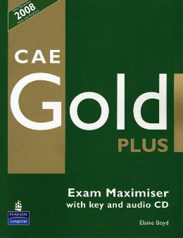 CAE GOLD PLUS EXAM MAXIMISER WITH KEY & AUDIO CD