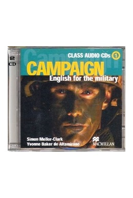 CAMPAIGN ENGLISH FOR THE MILITARY 1 CLASS AUDIO CDs (SET 2 CD)
