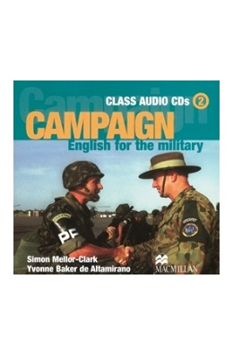 CAMPAIGN ENGLISH FOR THE MILITARY 2 CLASS AUDIO CDs (SET 3 CD)