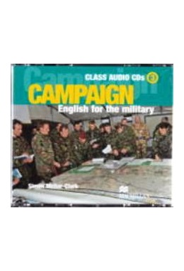CAMPAIGN ENGLISH FOR THE MILITARY 3 CLASS AUDIO CDs (SET 3 CD)