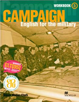 CAMPAIGN ENGLISH FOR THE MILITARY 3 WORKBOOK WITH AUDIO CD