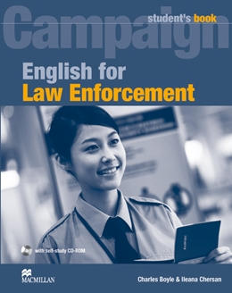 ENGLISH FOR LAW ENFORCEMENT STUDENT'S BOOK WITH CD-ROM
