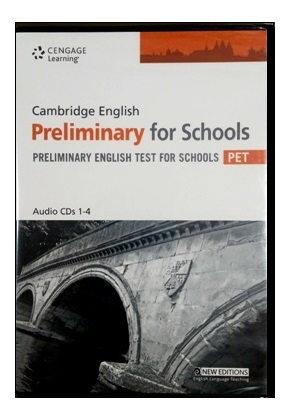 CAMBRIDGE ENGLISH PRELIMINARY FOR SCHOOLS AUDIO CDs (SET OF 4)