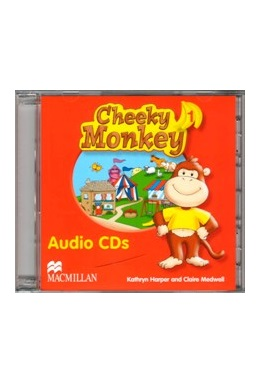 CHEEKY MONKEY 1 AUDIO CDs (SET 2 CD)