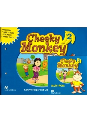 CHEEKY MONKEY 2 PUPIL'S BOOK PACK