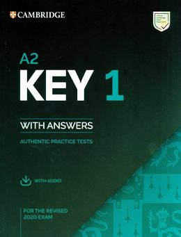 A2 KEY 1 WITH ANSWERS & AUDIO DOWNLOAD (REV. 2020)