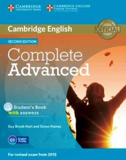 COMPLETE ADVANCED 2ND ED. STUDENT'S BOOK WITH ANSWERS & CD-ROM