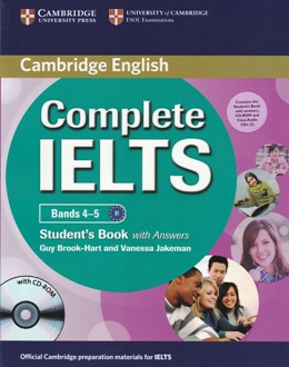 COMPLETE IELTS BANDS 4-5 STUDENT'S PACK