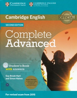 COMPLETE ADVANCED 2ND ED. STUDENT'S BOOK PACK
