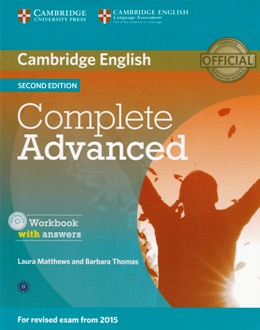 COMPLETE ADVANCED 2ND ED. WORKBOOK WITH KEY & AUDIO CD