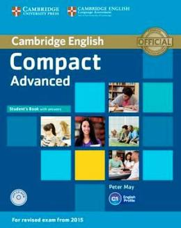 COMPACT ADVANCED 2ND ED. STUDENT'S BOOK WITH ANSWERS AND CD-ROM