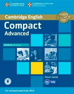 COMPACT ADVANCED 2ND ED. WORKBOOK WITH KEY & AUDIO DOWNLOADABLE