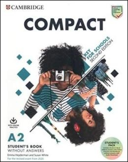 COMPACT KEY FOR SCHOOLS 2ND ED. STUDENT'S BOOK PACK REV. 2020