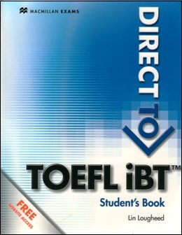 DIRECT TO TOEFL IBT STUDENT'S BOOK WITH FREE WEBSITE ACCESS