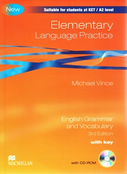 ELEMENTARY LANGUAGE PRACTICE 3RD EDITION WITH KEY & CD-ROM