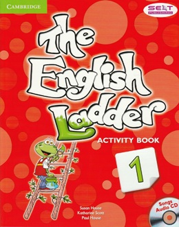 THE ENGLISH LADDER 1 ACTIVITY BOOK WITH SONGS AUDIO CD