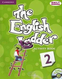 THE ENGLISH LADDER 2 ACTIVITY BOOK WITH SONGS AUDIO CD