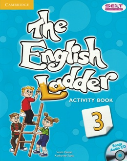 THE ENGLISH LADDER 3 ACTIVITY BOOK WITH SONGS AUDIO CD