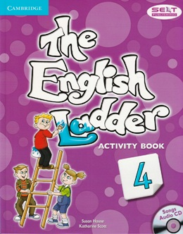 THE ENGLISH LADDER 4 ACTIVITY BOOK WITH SONGS AUDIO CD