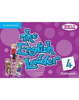 THE ENGLISH LADDER 4 FLASHCARDS