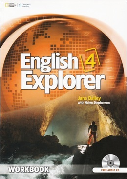 ENGLISH EXPLORER 4 WORKBOOK WITH AUDIO CD