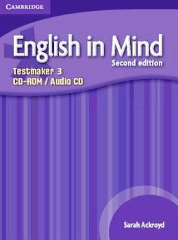 ENGLISH IN MIND 2ND EDITION 3 TESTMAKER CD-ROM / AUDIO CD