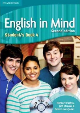 ENGLISH IN MIND 2ND EDITION 4 STUDENT'S BOOK WITH DVD-ROM