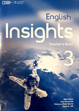 ENGLISH INSIGHTS 3 TEACHER'S BOOK WITH CLASS AUDIO CD