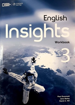 ENGLISH INSIGHTS 3 WORKBOOK WITH AUDIO CD AND DVD