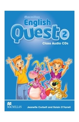 MACMILLAN ENGLISH QUEST 2 CLASS AUDIO CDs (SET 3 CD)