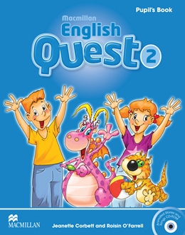 MACMILLAN ENGLISH QUEST 2 PUPIL'S BOOK WITH CD-ROM