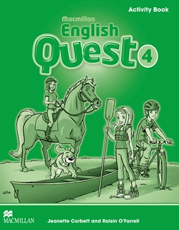 MACMILLAN ENGLISH QUEST 4 ACTIVITY BOOK