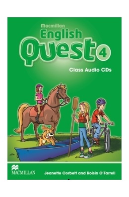 MACMILLAN ENGLISH QUEST 4 CLASS AUDIO CDs (SET 3 CD)
