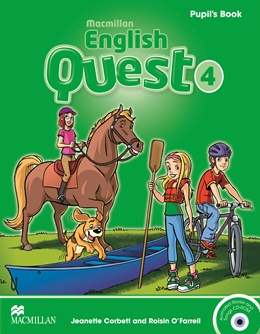 MACMILLAN ENGLISH QUEST 4 PUPIL'S BOOK WITH CD-ROM
