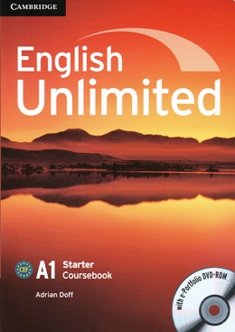 ENGLISH UNLIMITED STARTER COURSEBOOK WITH E-PORTFOLIO DVD