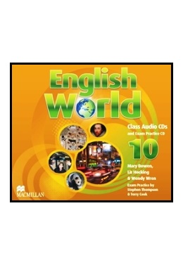ENGLISH WORLD 10 CLASS AUDIO CDs (SET 3 CD)